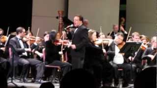 """You Make Me Feel So Young"" Rob Zappulla with Columbia Orchestra & Columbia Jazz Band 3.17.13"