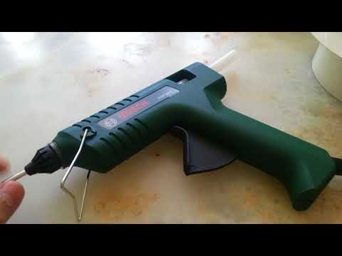 Bosch PKP 18 E glue gun review.