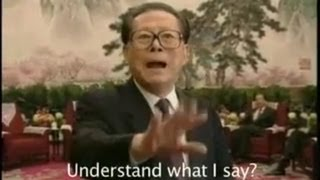 Rare Footage of Former China Leader Jiang Zemin Freak Out (With English Subs!)