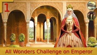 #1 | Civilization V | All Wonders Challenge on Emporer