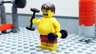 Lego Gym Fail   Body Building