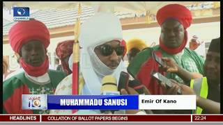Gov'ship, State Assembly Elections: Emir Of Kano Votes