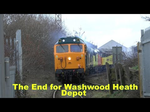 The final Colas Rail locomotives leave Washwood Heath 16th J…