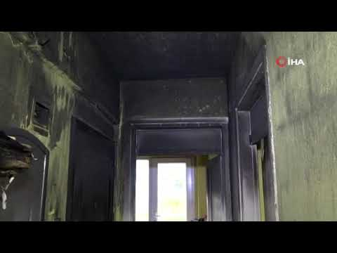 Evi yanan vatandaşa derman oldular