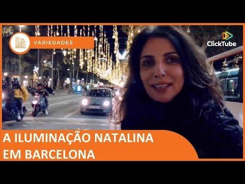 Hola Espanha Oficial - Iluminação Natalina em Barcelona