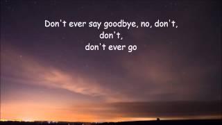 Aaron Neville  ~ Dont Take Away My Heaven  Lyrics