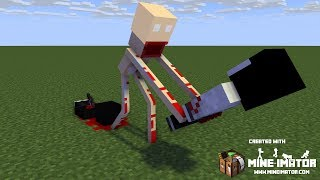 Minecraft animations battles: SCP-096's rampage. TigerEye35 [MOST VIEWED VIDEO ON MY CHANNEL]