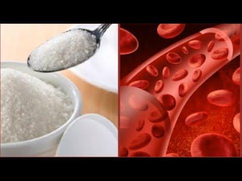 Um declínio acentuado nas causas de açúcar no sangue