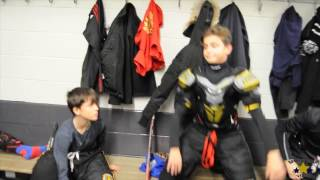 Peewee AAA Lions North Holiday Practice Video