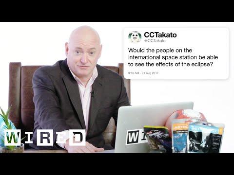 Scott Kelly odpovídá na otázky o vesmíru