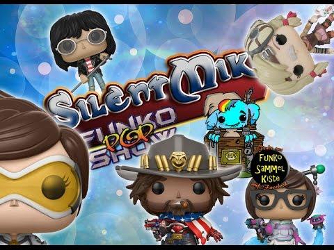 Silent Mike Funko Pop Show #094 - Overwatch Exclusives, Borderlands & Morrowind