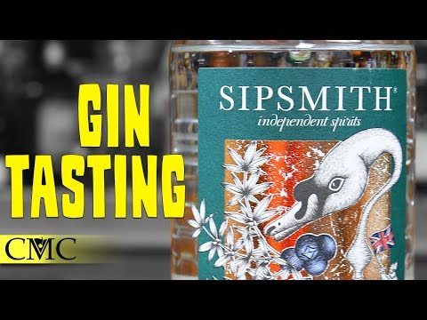 🌿🌿 Sipsmith Gin Tasting / A London Dry Gin in London