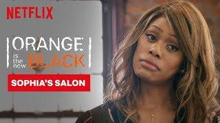Sophia Does Piper's Hair   Orange Is the New Black   Netflix