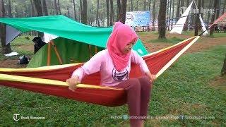 Penampakan Sejumlah Mahasiswa Piknik Nggantung di Hutan Sikembang