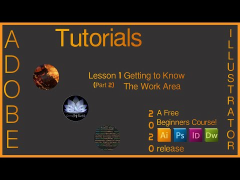 Adobe Illustrator Classroom In A Book Lesson 1 Getting to Know the Work Area Part 2 of 2