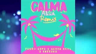 Pedro Capo Feat. Alicia Keys & Farruko - Calma (Alicia Remix)  (Audio)