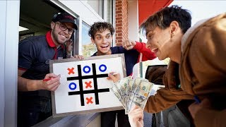 Beat Me In Tic Tac Toe, WIN $100!!