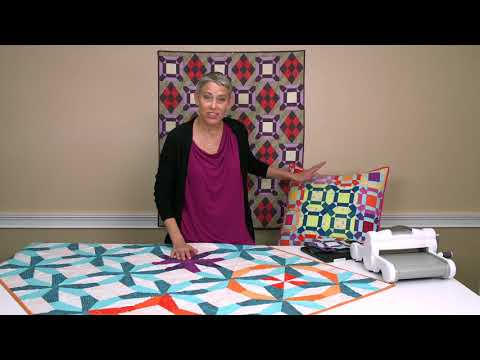 Facets and Flip Side! Modern Quilting Dies From Victoria Findlay Wolfe | Sizzix Quitling