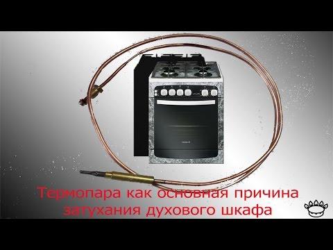 Ремонт газовой плиты, гаснет или не загорается духовка (духовой шкаф) Что делать ?