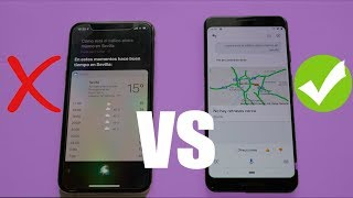 Google Assistant vs Siri en Android 9 & iOS 12 2018 | 30 Preguntas
