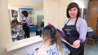 Курсы парикмахеров Запорожье, окрашивание волос