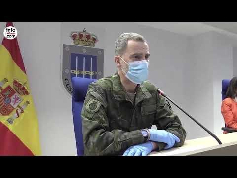 Felipe VI visita el Mando de Operaciones (Vídeo: Casa de S.M. el Rey)