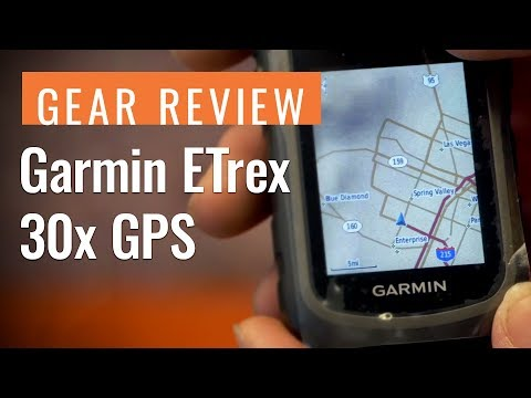 Gear Review: Garmin ETrex 30x GPS