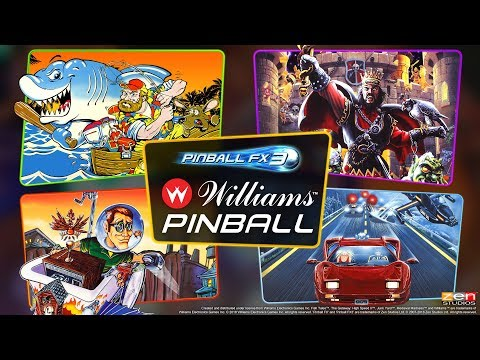 Williams Pinball Volume 1 Launch Trailer - A New Pinball FX3 Era Begins! thumbnail