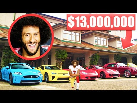 12 Items Colin Kaepernick Owns That Cost More Than Your Life...