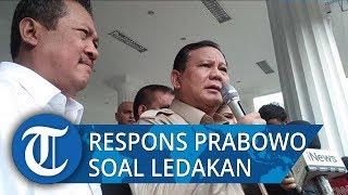Granat Asap Meledak di Monas, Menhan Prabowo: Kita Lihat Perkembangan Penyelidikan