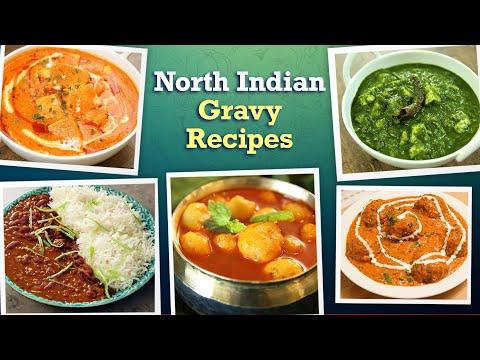 6 North Indian Style Gravy Recipes | Dal Makhani | Malai Kofta | Palak Paneer | Tasty Veg Curries
