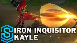 Iron Inquisitor Kayle (2019) Skin Spotlight - League of Legends