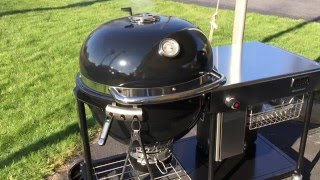 Weber Summit Charcoal Grill Review / Comparison with Big Green Egg XL #Grillofalifetime
