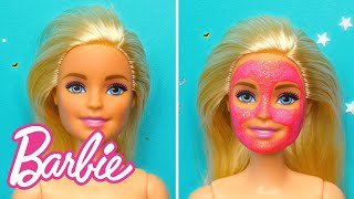 10 AMAZING DIY BARBIE DOLL WEEKEND ROUTINE HACKS IDEAS | 5-Minute Crafts X Barbie | Barbie