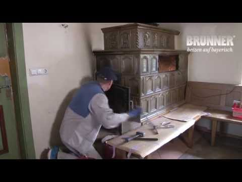 Kachelofen - Neue Technik im alten Gewand