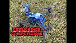 Chalk Bomb Competition - Coming 4th of July at Temple Drone Racing!