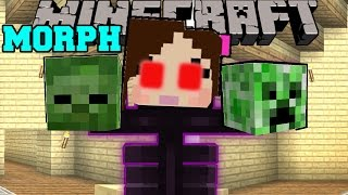 Minecraft: MORPH! (TURN INTO ANY MOB OR ANIMAL!) Custom Command