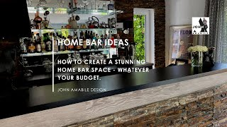 How To Create And Pimp Out Your Home Bar & My Home Bar Tour!