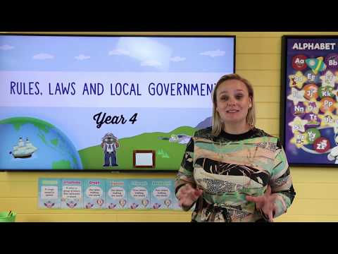 Rules, Laws and Local Government