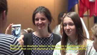 Výnimoční mladí ľudia zo Slovenska navštívili Európsky parlament