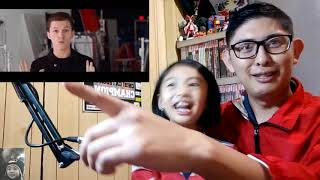 SPIDER-MAN - FAR FROM HOME  | Dad & Daughter Reaction Trailer