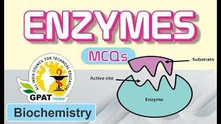 mcqs on enzymes biochemistry