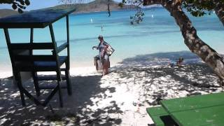preview picture of video 'Lindquist Beach (AKA Smith Bay) St. Thomas USVI'