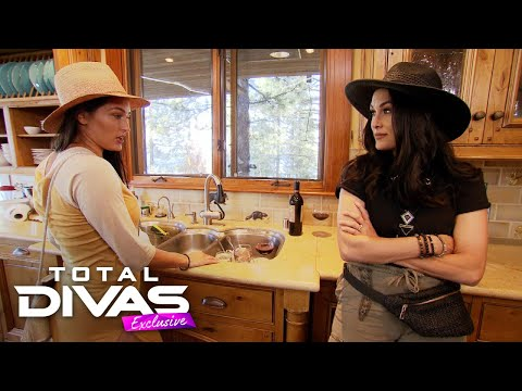 Brie's lake monster prank gets shut down by Nikki – Total Divas Exclusive