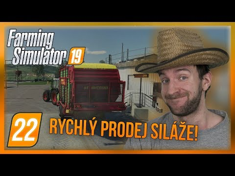 RYCHLÝ PRODEJ SILÁŽE! | Farming Simulator 19 #22