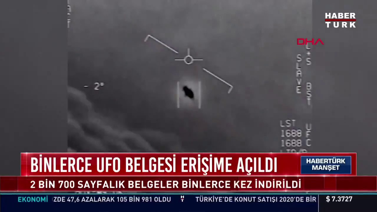 Binlerce UFO belgesi erişime açıldı!