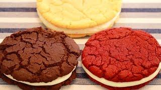 3 GIANT Single-Serving OREO Cookies (Red Velvet, Birthday Cake & Chocolate) Bigger Bolder Baking 109