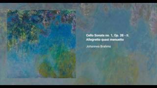 Cello Sonata no. 1, Op. 38