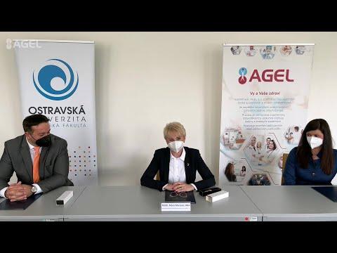 Video: Lékařská fakulta Ostravské univerzity a zdravotnická skupina AGEL se dohodly na užší spolupráci