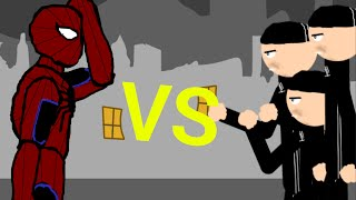 Человек паук vs Гопников